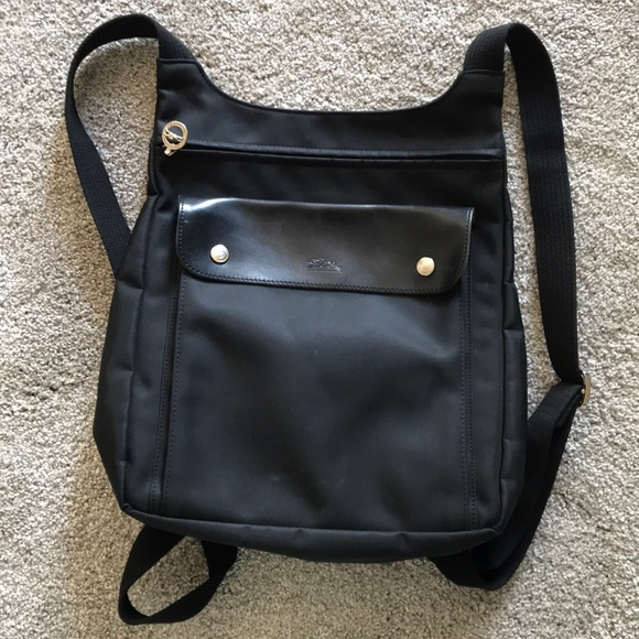 443aa06bf347 Longchamp Handbags - VGUC Authentic Black Longchamp Backpack!